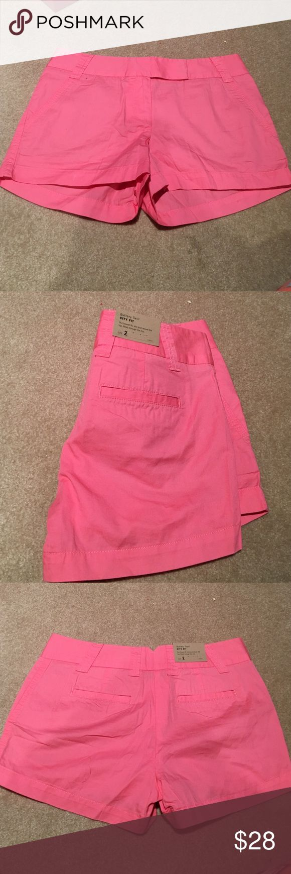 NWT J. Crew salmon shorts size 2 NWT J. Crew salmon shorts size 2. perfect for summer! open to offers. J. Crew Shorts