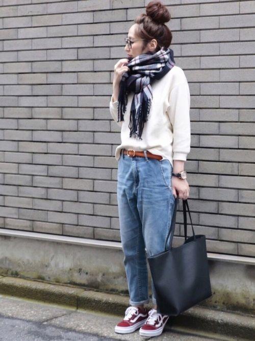 UNIQLOのTシャツ・カットソー「ワッフルクルーネックT(七分袖)」を使ったmaiko のコーディネートです。WEARはモデル・俳優・ショップスタッフなどの着こなしをチェックできるファッションコーディネートサイトです。