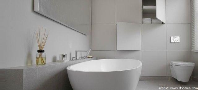 Pomysłowe schowki w łazience – szafki, których nie widać!