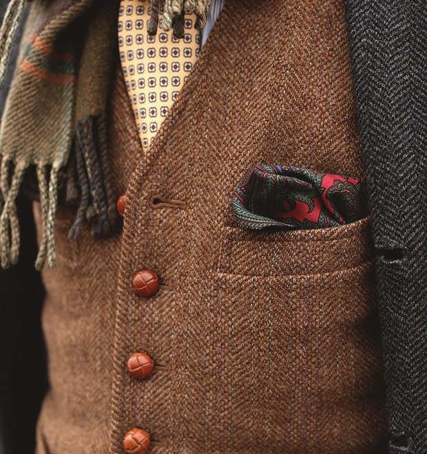 Tweed // #fashion #vest #menswear