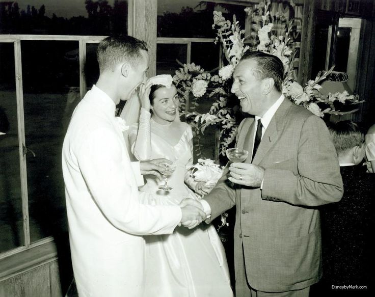 Where did walt disney and his wife get married