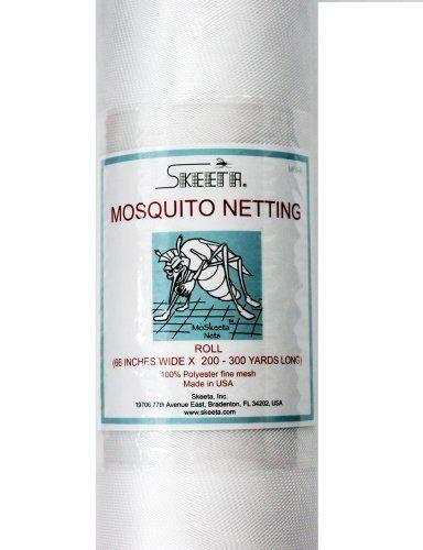 Skeeta Mosquito Netting 66 Quot Wide X 230 Yard Roll White
