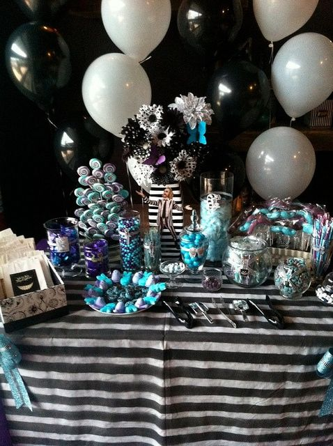Tim Burton Themed Birthday Party Bing Images