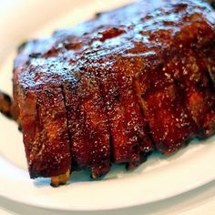 Smoked Pork Ribs Masterbuilt