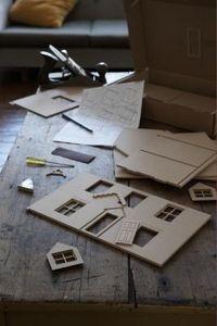How to Make Cardboard Dollhouses thumbnail