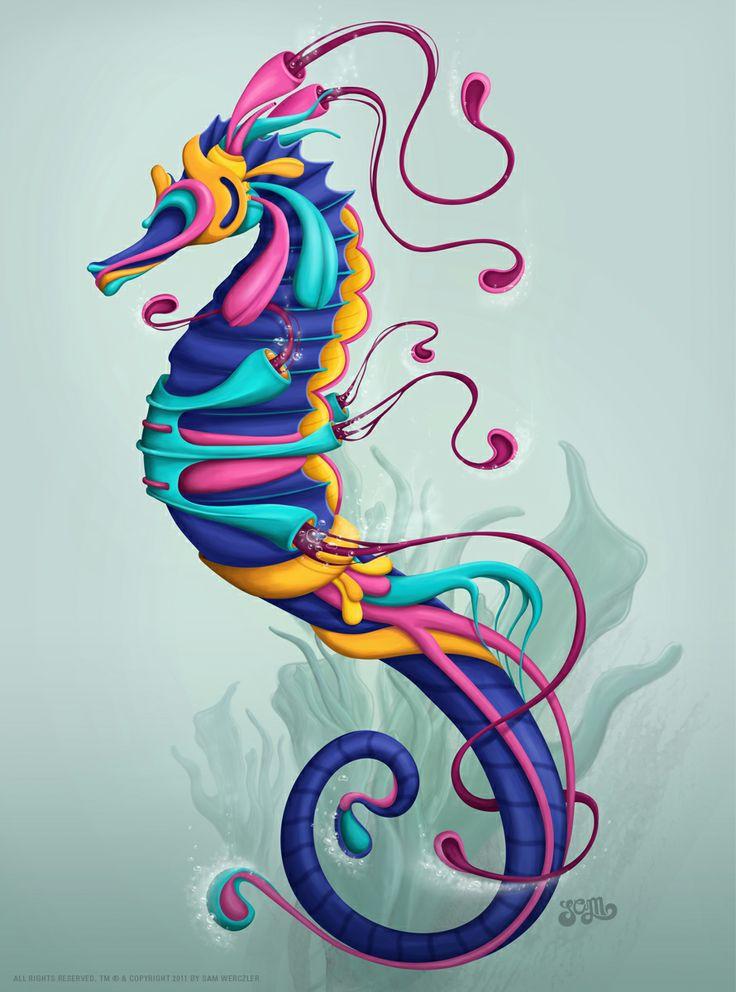Sea Horse  by Sam Werczler