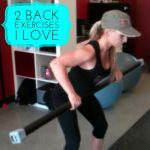Two Back Exercises I Love - Amanda Adams