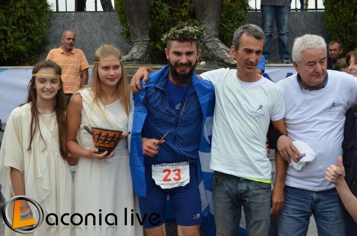 Καταχειροκροτούμενος στον τερματισμό ο Λάκωνας σπαρταθλητής Κώστας Λαμπρινός