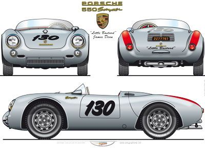 james dean 955 porsche super speedster nitro pinterest james dean porsche 550 and porsche 356