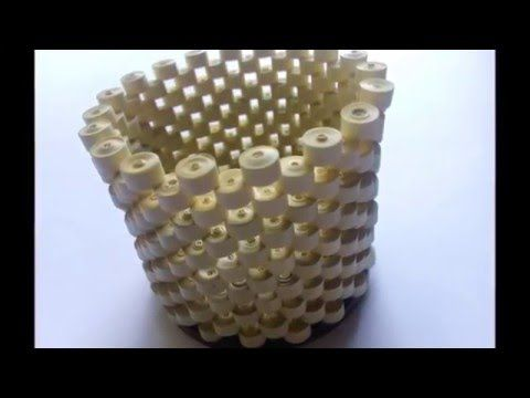 Amazing Art Show #23: Making Pots with Newspaper - YouTube