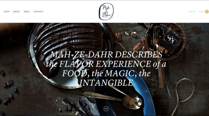 Mah Ze Dahr bakery website