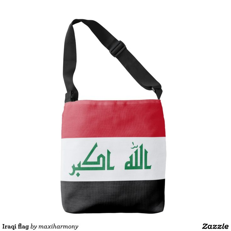 Iraqi flag tote bag