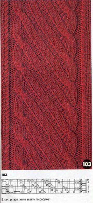 tejer patrón de tejer patrón # 85