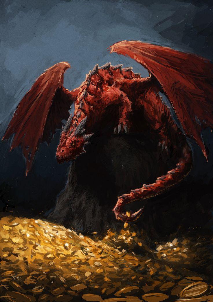 Dragon's Lair by Spellsword95.deviantart.com on @DeviantArt