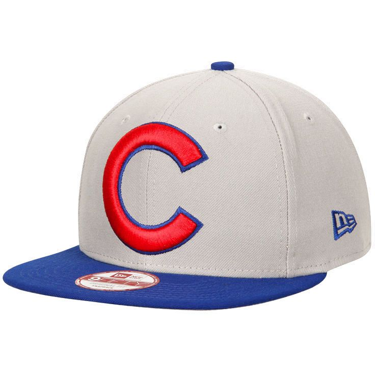 c3d8ab0069d Chicago Cubs New Era Logo Grand Redux 9FIFTY Adjustable Snapback Hat -  Gray Royal -