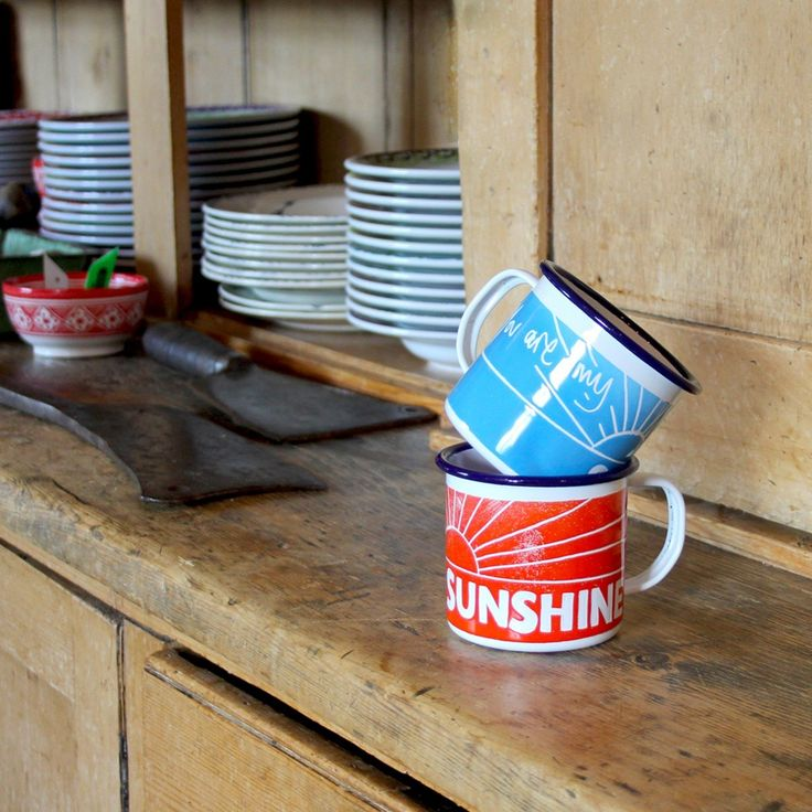 You're My Sunshine Enamel Mugs Pedlars