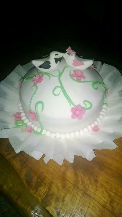 Torta para los novios