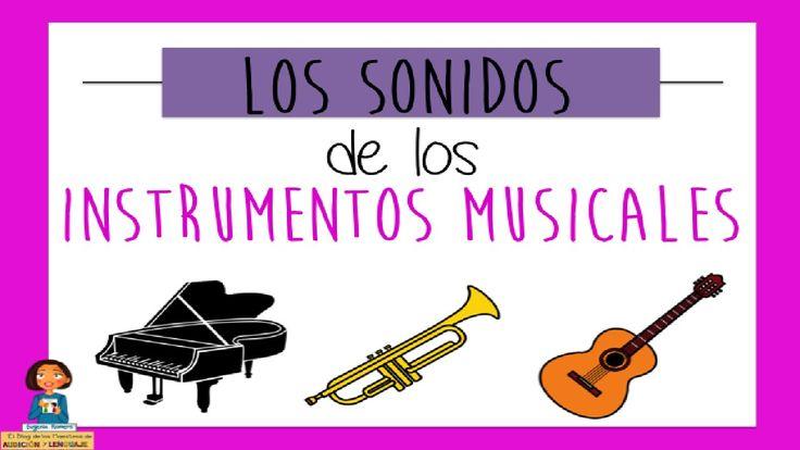 Los sonidos de los instrumentos musicales_Discriminación auditiva. EDAD: 5AÑOS