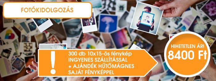 Fotókidolgozás + Ajándéktárgy csomagbana legjobb áron!