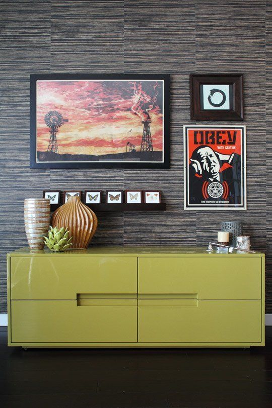 love the Chartreuse console