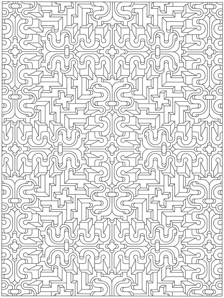 quirkles coloring pages for adults - photo#19