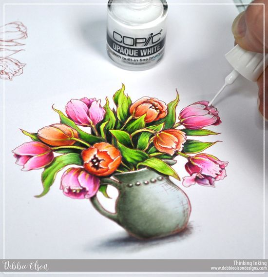 65 best my copic marker projects images on pinterest copic rh pinterest com coloring flowers with copic markers book Coloring Leaves with Copic Markers