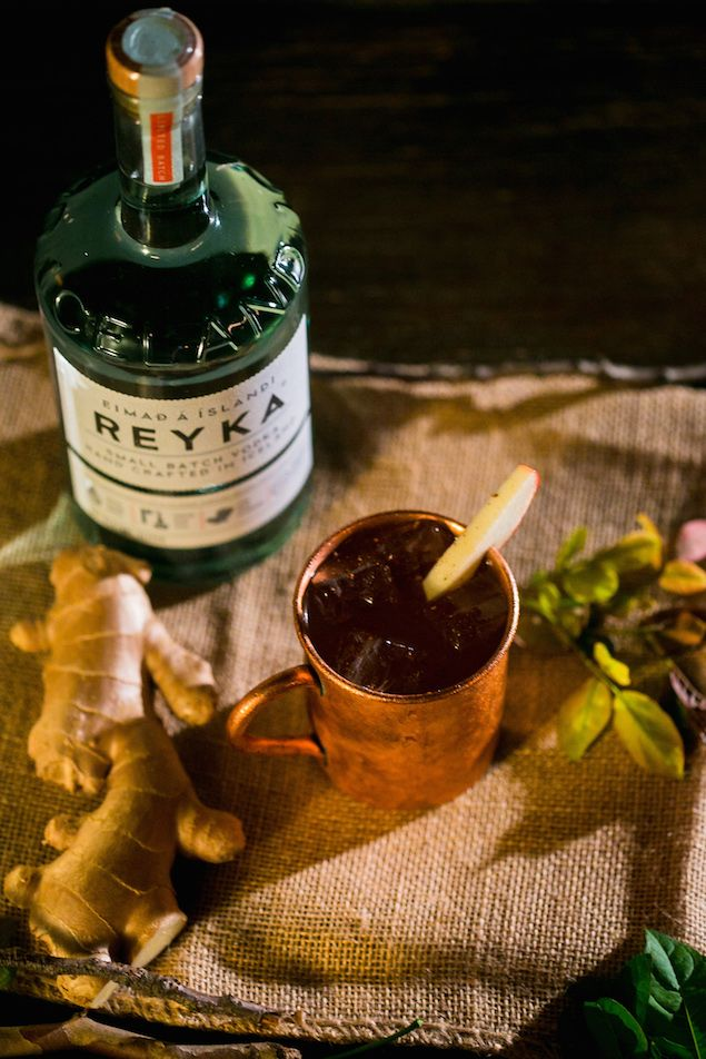 Cocktail Made with the Smoothest Icelandic Vodka