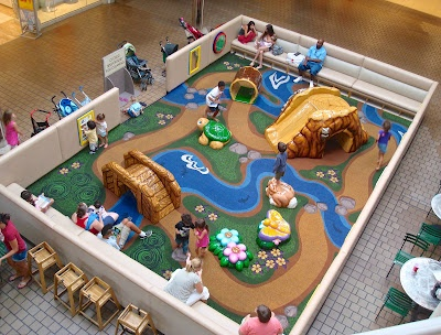 Tallahassee Daily Photo: Playtime at the Mall #playtime #tallahassee #kids #playground #malls #Florida #bridges #rivers #shopping #flowers #nature #themed