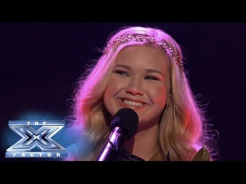 """Rion Paige sang """"Your Song"""" @The X Factor USA  2013 TOP 10 British Invasion week"""