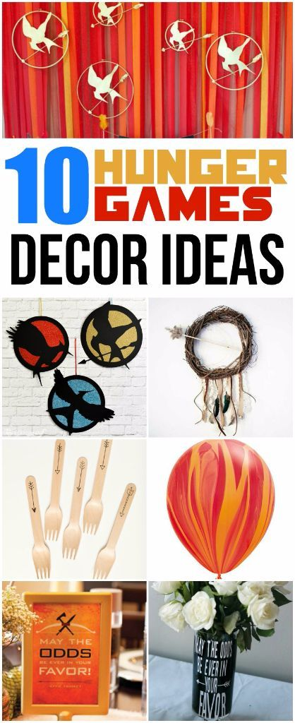 Have a secret crush on Jennifer Lawrence or Hunger Games quotes running through your head? You're gonna love this collection of 10 Hunger Games decorations. Everything from DIY crafts to home decor ideas all inspired by your favorite trilogy. And I love the last idea, simple yet so effective!