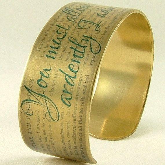 Pride and Prejudice Jewelry  Mr Darcy Proposal door JezebelCharms