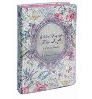 Biblia Sagrada Ella de Estudo Conciso - Capa Luxo Floral