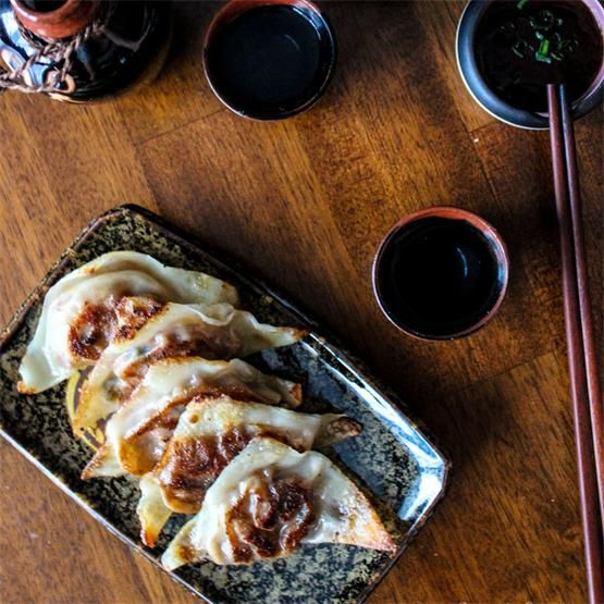 Chinese BBQ Pork (Char Siu) Dumplings by @pupschopsticks - #KeepOnCooking