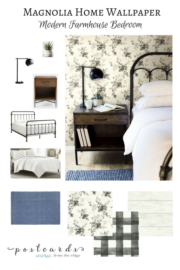 Add Some Wow to Your Walls with Joanna Gaines' New Wallpaper - Postcards from the Ridge
