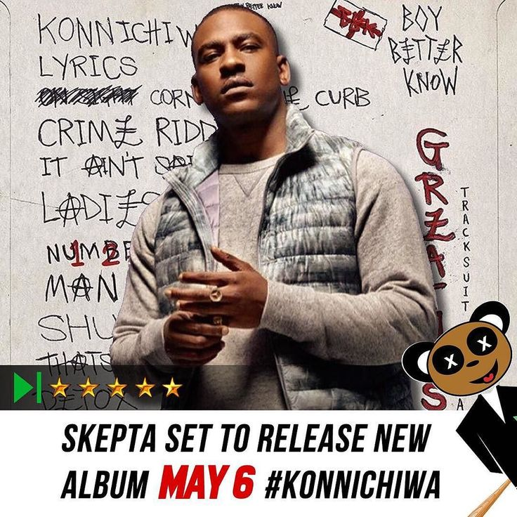 Grime and Hip Hop fans get ready! Joseph Adenuga a.k.a SKEPTA is set to drop highly anticipated new album #KONNICHIWA on Friday May 6th. You've been warned. #dizzylikes #skepta #bbk #boybetterknow #ukgrime #naijaboy by dzrpt_tv