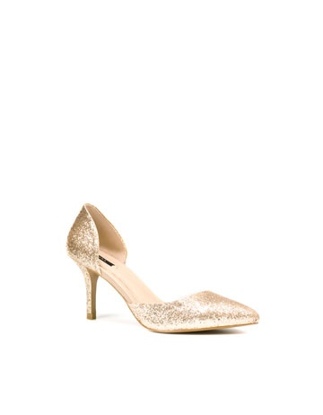 Zara Glitter Heel - for when you want just a bit of sparkle. $79.90