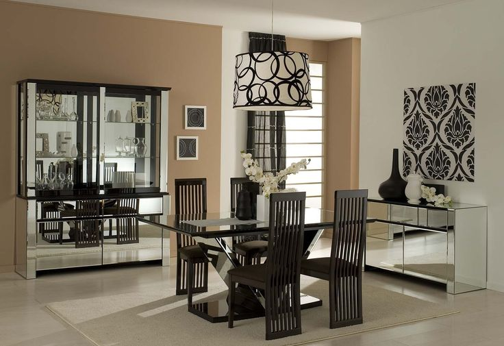 Glass Table Dining Rooms - https://www.interiorhd.com/diningroom/glass-table-dining-rooms/  Dining Rooms – When we say glass dining table, it does not mean a dining table made entirely of glass, rather, a table top made from glass and is supported with a frame generally made from timber, metal, and in some cases, ceramics. The frame, whatever the material is, holds the glass and...