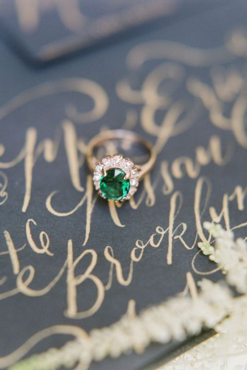 17 emerald engagement rings that will have you swooning: