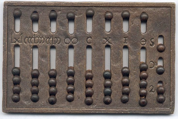 Roman Abacus - Numbers from a different point of view -  A Roman version of the Babylonian abacus that greatly reduced the time needed to perform basic arithmetic operations using Roman numerals.
