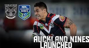 nrl 9s - Shaun Johnson Auckland Warriors