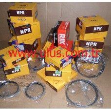 6127-31-2070-Komatsu Piston ring set SA6D155 Motor segmanı