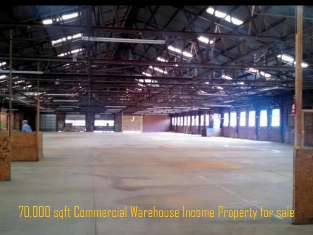 70,000 square foot Commercial Warehouse Income Property for sale with a proposed 10% shared ownership. This large size property is an ideal investment for a real estate pooling of 10 buyers for a property crowdfunding project to buy it. 70000多英尺的商业仓库收益性房产出售与提议的10%的共同所有权。这种大尺寸属性是10个买家地产池的属性集资项目,买它理想的投资。