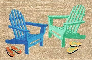 Beach Chair Doormat - Doormat - Door Mats - Outdoor Doormats | HomeDecorators.com