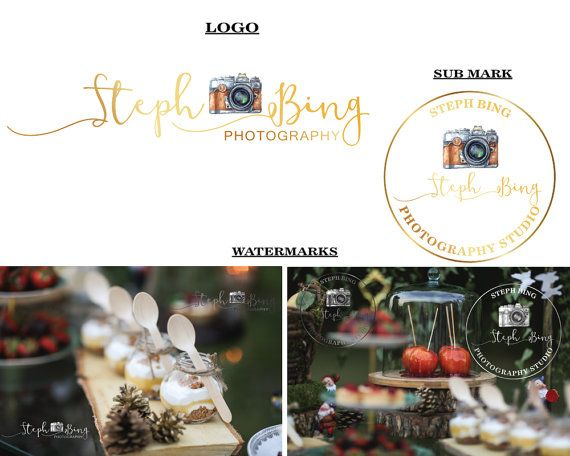 Handrwitten logo Photography logo Signature by LoveArtsStudio