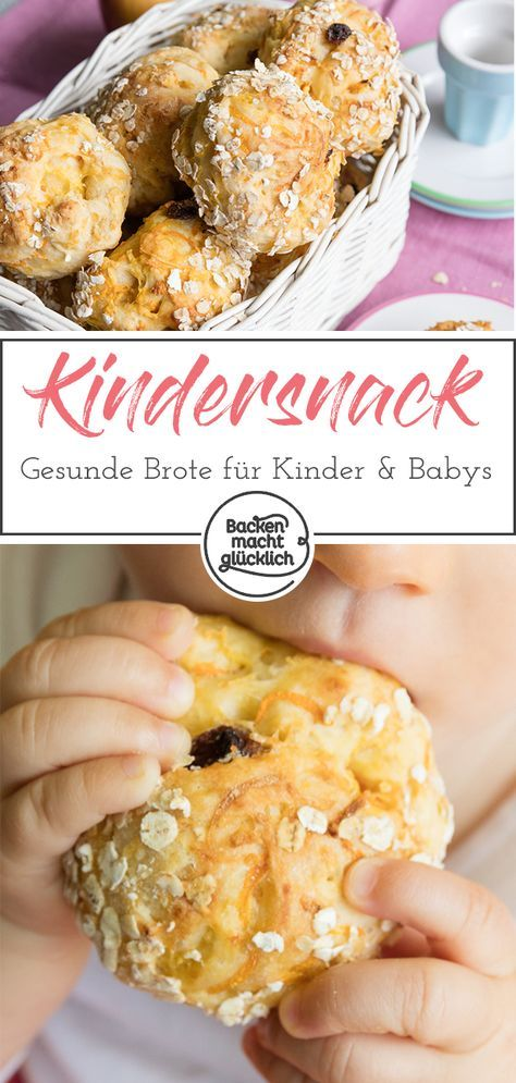 Knabberbrötchen für Kinder  – Essen mit baby