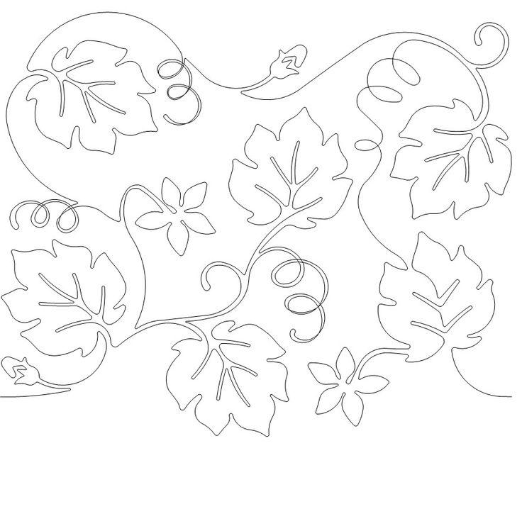 free pumpkin vine coloring pages - photo#1
