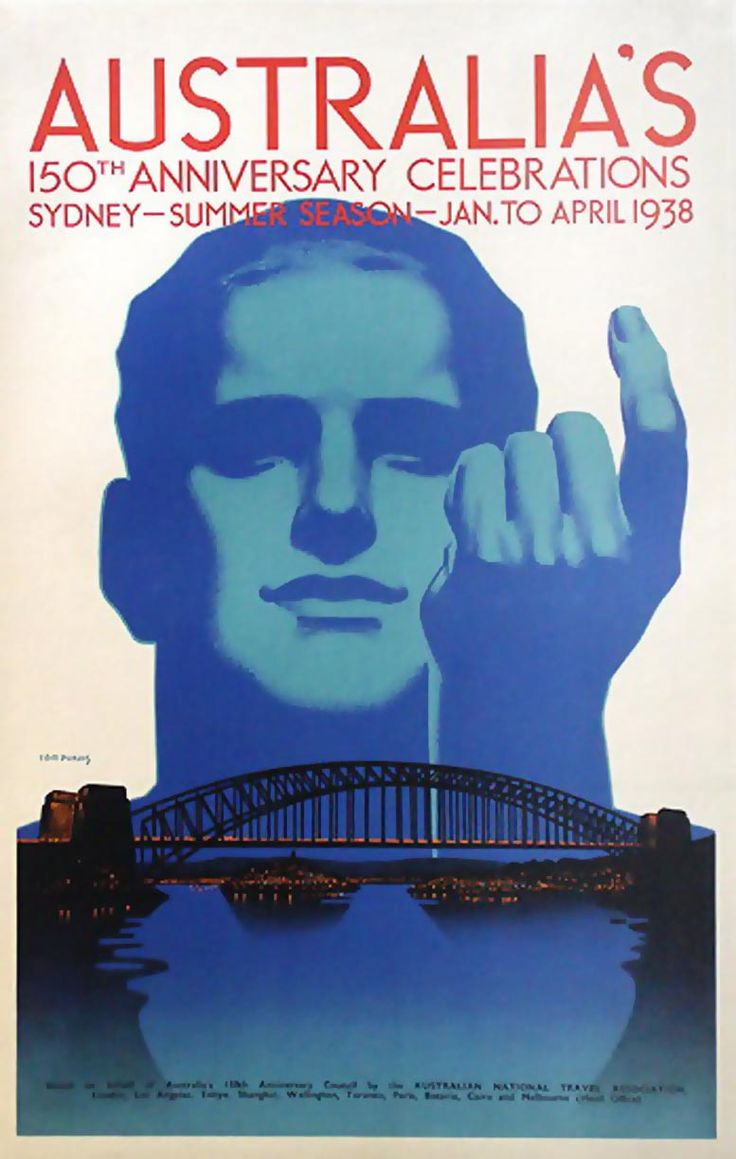 Australia's 150th Anniversary Celebrations, by Tom Purvis