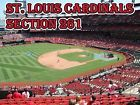 #Ticket  2 Tickets Chicago Cubs @ Cardinals 5/23 Section 261 Row 5 (Third Base Loge) #deals_us
