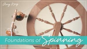 Learn the difference between Scotch and Irish tension spinning wheel brake systems, and how to use them effectively in handspinning. On Craftsy!