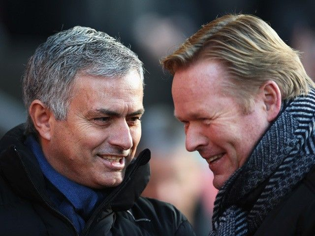 Jose Mourinho unhappy with Ronald Koeman's Memphis Depay overtures